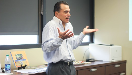 Former VP of Costa Rica 'didn't think twice' when considering teaching at UTD