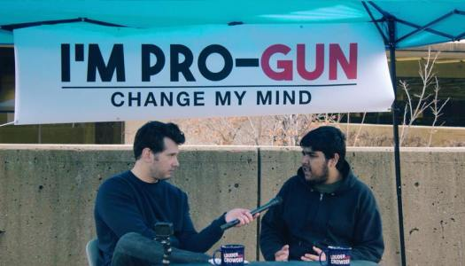 Conservative comedian sparks debate over gun laws
