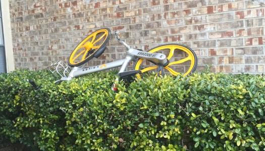V-bikes bringing bike racks to campus
