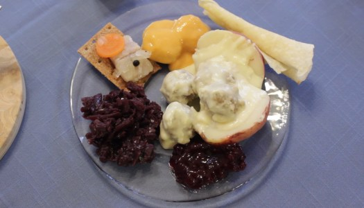 Nordic dinner: simple but delicious