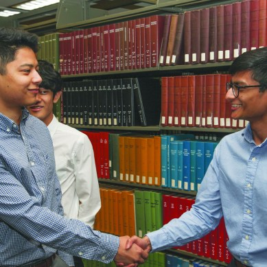 Students provide free consulting services