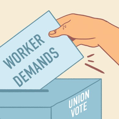 Select Chartwells employees to hold union election in May