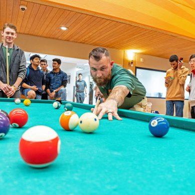 Billiards Team Joins UREC as Club Sport