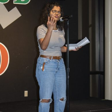 Poetry Slam Showcases Stories from Students