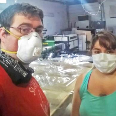 Members of UTD community volunteer to produce face masks