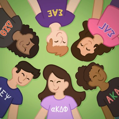 College + Greek life = a new you