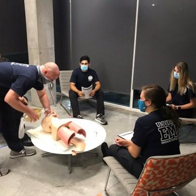 EMT participant tests positive for COVID-19