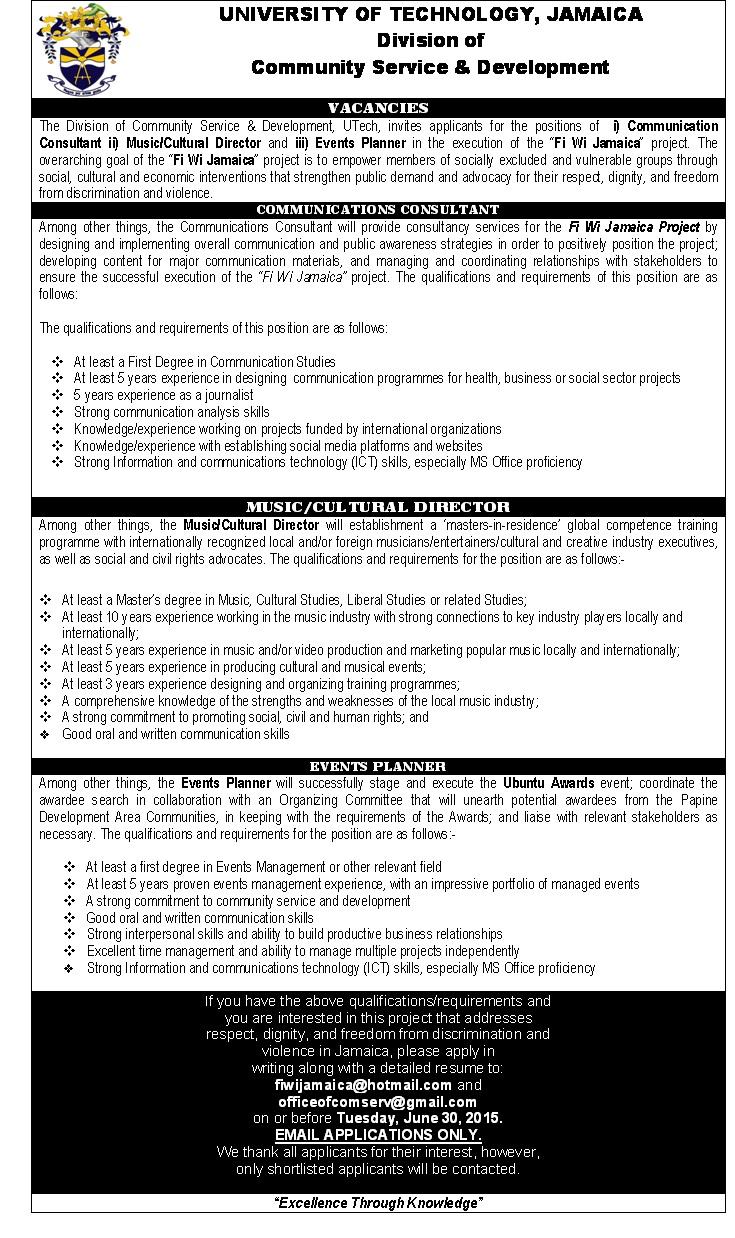 resume writing services jamaica