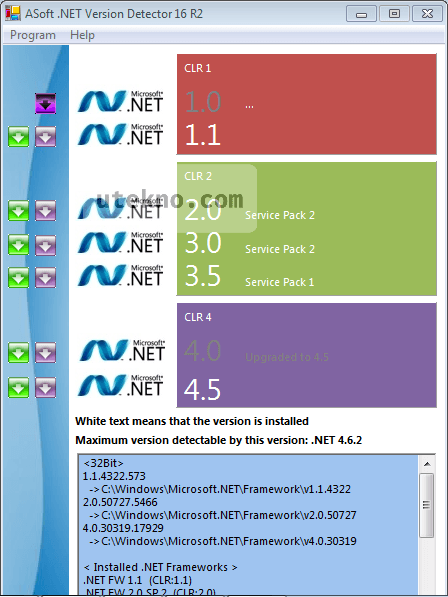 Cara Cek Net Framework Windows 10 : framework, windows, Melihat, Versi, Framework, Dengan