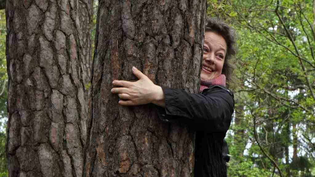 Krama ett träd. En mikro-friluftsdag.