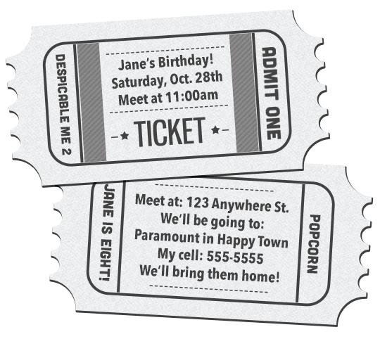 150+ Free Printable Birthday Invitation Card Templates
