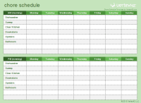 70+ Free Schedule & Planner Templates [ Word, Excel ...