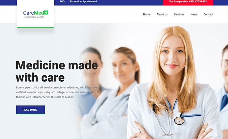 To make a medical clinic website more laconic and attractive equip a medical wordpress theme with health responsive medical website template, health doctor. 30 Free Health Clinic Medical Website Html Templates Utemplates