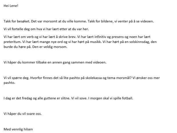 brev Lene