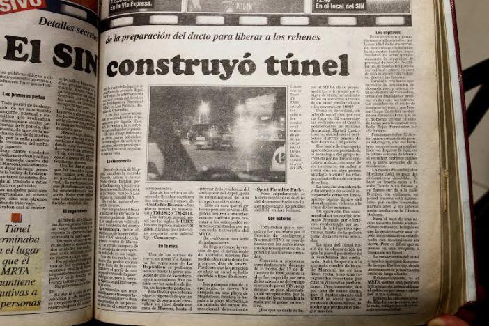 """""""El SIN construyó túnel"""""""