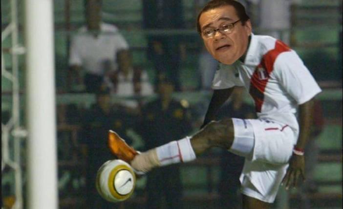 Este Mendoza es más malo que el Cóndor fallándose ese gol contra Ecuador. Imagen: composición Útero.Pe