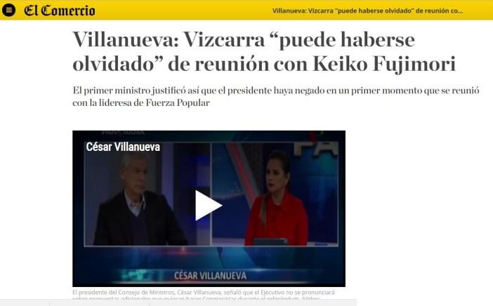 Tesso. Imagen: captura El Comercio