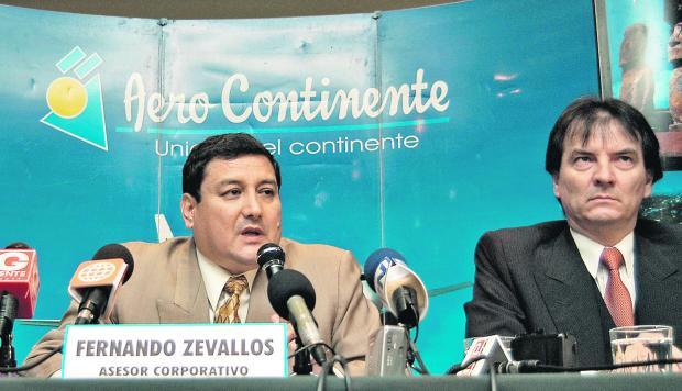 El narco Lunarejo, a su lado: el analista Carlos Morales. (Foto: El Comercio)