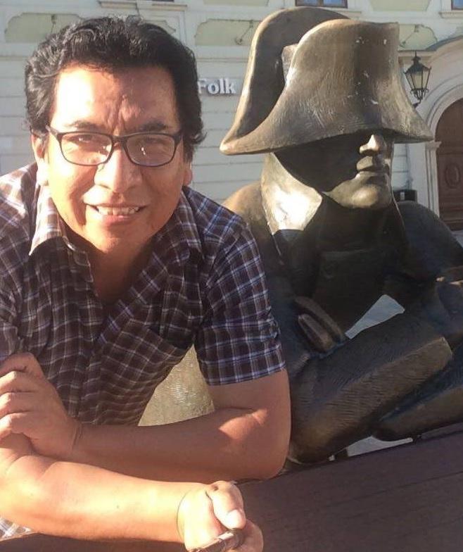 Iván Manchego, hace un par de años. Foto: Facebook / Ivan Eduardo Manchego Cuayla