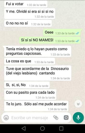 Siempre lo dije: solo los memes cambiarán el Perú. Foto: Rayo Pudiente / Facebook