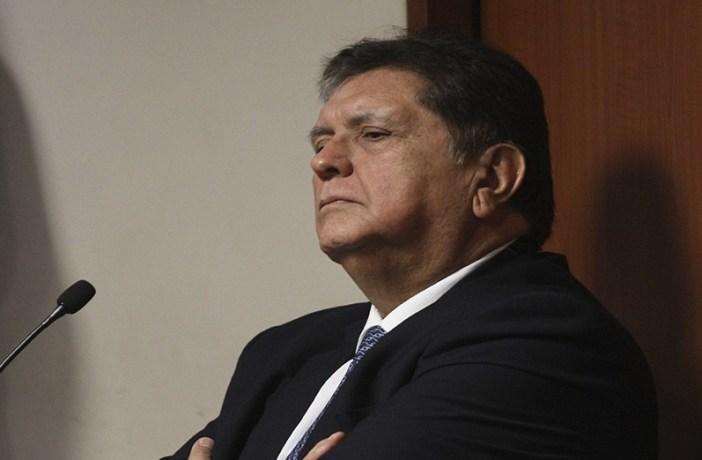 Alan García (1949-2019). Imagen vía Exitosa