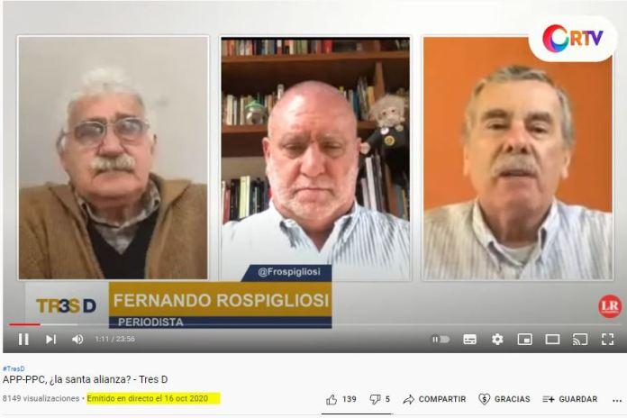 Imagen: Captura de Youtube de La República
