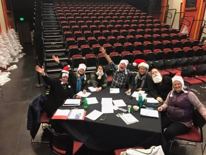 New Ute Theater Society December 2018 Meeting