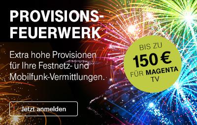Provisionsfeuerwerk +++ Extra hohe Sonder-Provision im Februar 2020