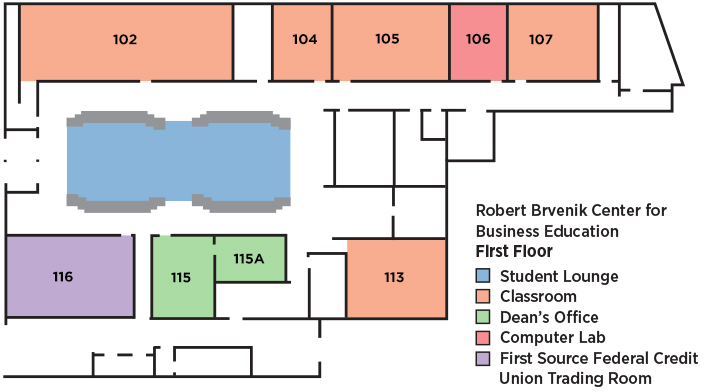 Brvenik Center Floor Plans