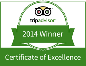 TripAdvisor 5Start Rating