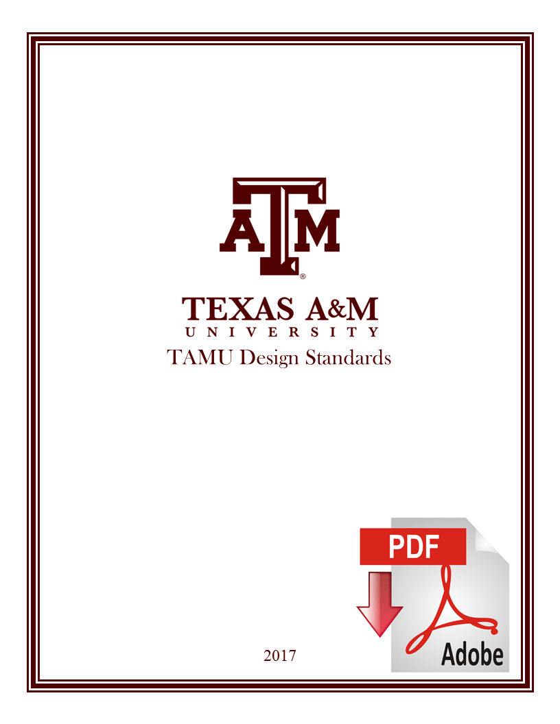 hight resolution of texas a m design standards booklet