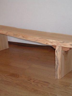 一枚板・接ぎ板ベンチ