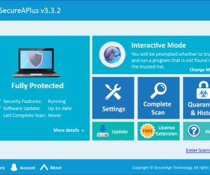 SecureAPlus Premium 4.6.3 Crack