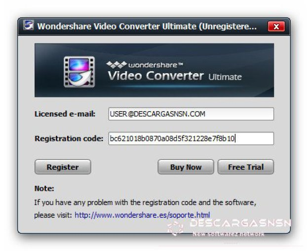 keygen for wondershare video converter ultimate
