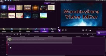 Wondershare Video Editor registration Code