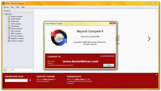 Beyond Compare Serial Key