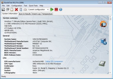 PassMark BurnInTest Serial Key
