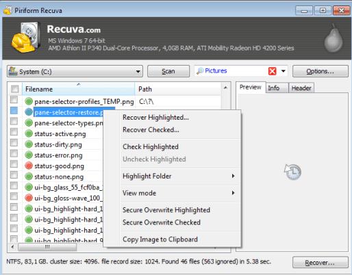 Recuva Pro Key