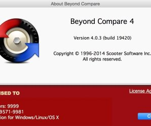 Beyond Compare 4.2.6 Crack