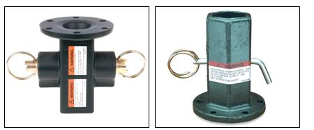 locking-dog, kellyadapter for bucket trucks