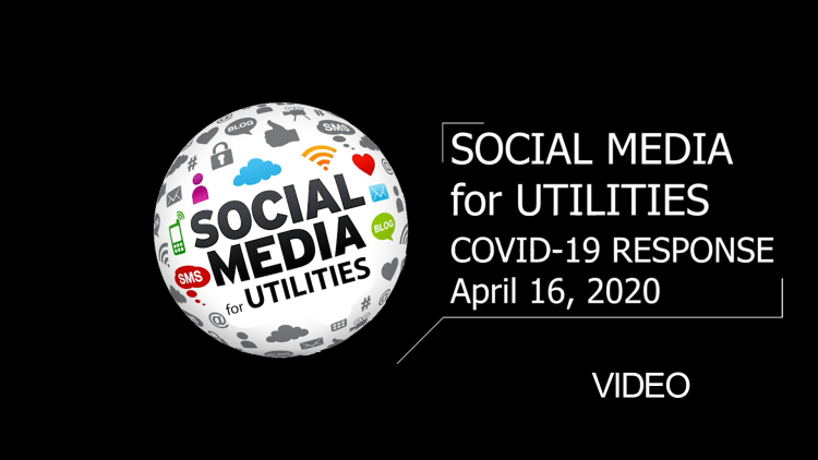 Social media for utilities video