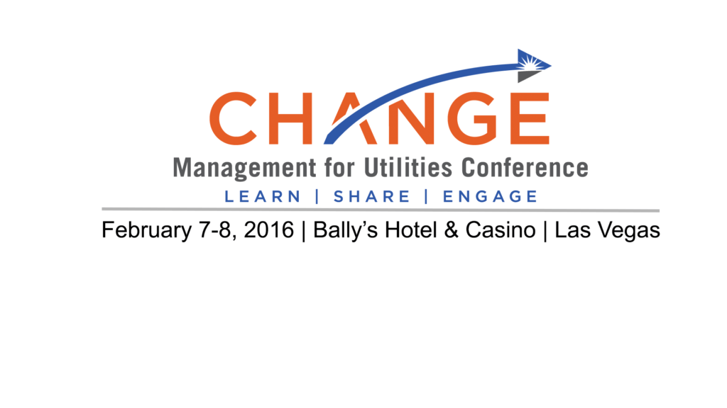 Change Management for Utilities Las Vegas 2017