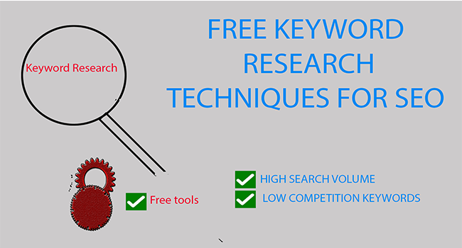 FREE Keyword Research techniques for SEO in 2021