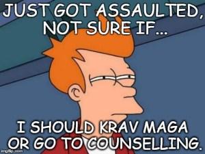 Fry and Krav Maga
