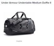 UTKM Underarmour Bag