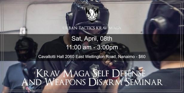 April 01 Nanaimo Krav Maga Seminar
