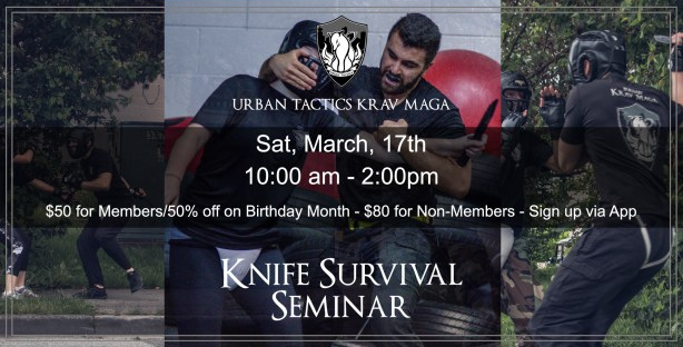 March 17st Knife Survival