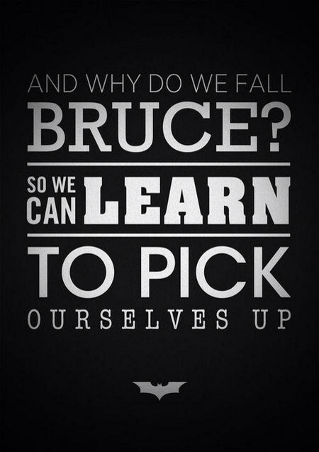 Why DO we Fall Bruce