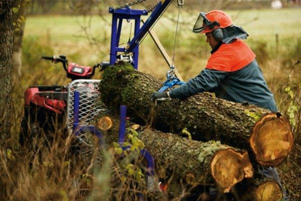 Atv utleie Alta med tømmervogn