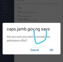accept caps